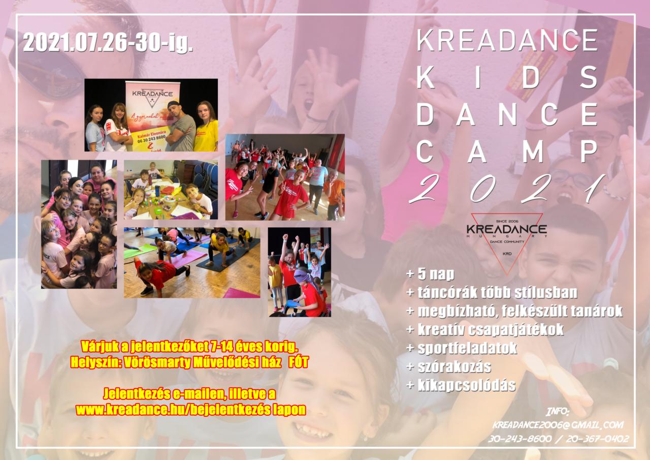 KREADANCE summer Camp 2021 terv 4